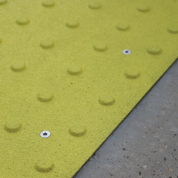 Coper removable tactile plate